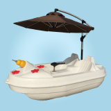 好奇全塑休闲水上游乐船全塑休闲艇聚乙烯塑料船