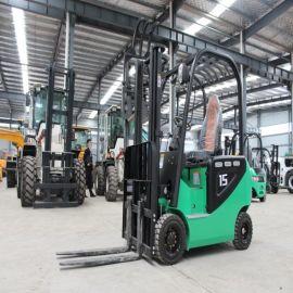 厂家直销 四轮座驾式电动叉车 2吨小型液压堆高车