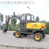 小型轮挖可定制 四驱轮式挖掘机 80轮挖 捷克