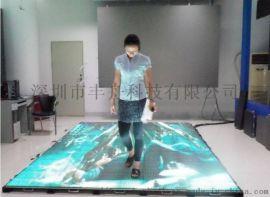 led地砖屏地板砖海浪沙滩动态地面led屏
