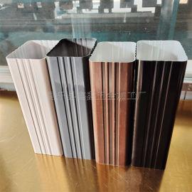 南京高层建筑用排水管 铝合金方形雨水管厚度
