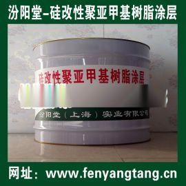 硅改性聚亚甲基树脂涂层用于水泥底建筑物的防水防腐