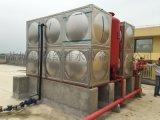 河南安阳地埋箱泵一体化消防给水设备