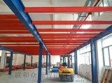 江門閣樓貨架重型倉庫倉儲二層夾層閣樓平臺可定製拆裝