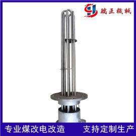 定制生产丝扣法兰电加热管水加热管加热设备