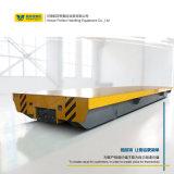 轨道式地平车厂区膜具移动有轨电动转运平台轨道平板车