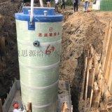 定制案例预制一体化污水提升泵站