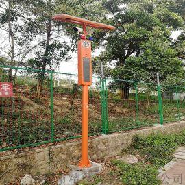 深圳语音杆led屏太阳能视频监控语音电子杆