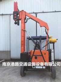 供应防撞护栏板打拔一体机、南京港路。