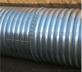 金属波纹涵管 镀锌螺纹钢管