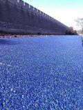彩色透水混凝土停车场地坪模具透水地坪
