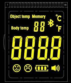 英文版测温显示LCD液晶屏