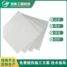 芜湖400g养护土工布300g聚酯长丝布供应