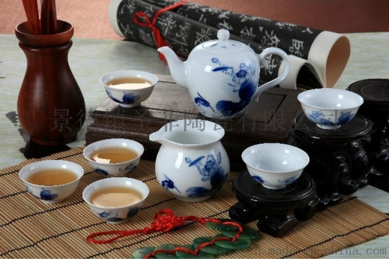 功夫茶具景德镇陶瓷厂家什么价格