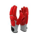 五級防切割磨砂TPR手套