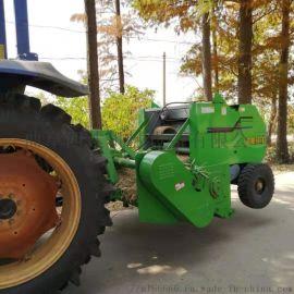 拖拉机悬挂型秸秆打捆机,玉米秸秆粉碎打捆机