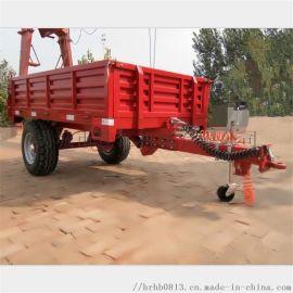 专做翻斗车 带油顶的拖斗 自卸拖车 拖拉机挂斗