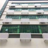 外牆鋁合金空調罩造型 住宅區隔熱空調罩效果圖片