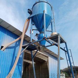 建筑化工粉末装罐车用气力输送机移动高扬程抽灰机