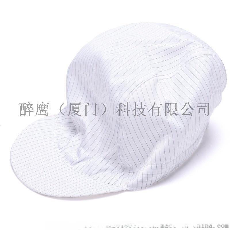廈門防靜電小工帽無塵工帽防塵帽 無塵車間防靜電工帽