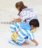 新款儿童沙滩浴巾批发订购