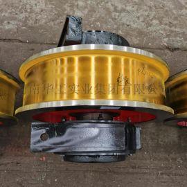 铸钢/锻造起重机龙门吊单双边φ500*150车轮组