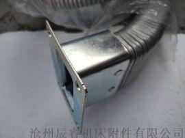 40*80封闭式矩形金属软管 沧州矩形金属软管
