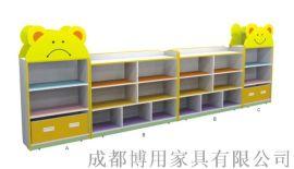 厂家直供四川组合玩具柜 四川幼儿园组合玩具柜定制