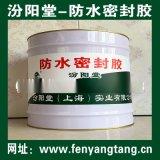 防水密封胶、粘结力强、涂膜坚韧、抗水渗透