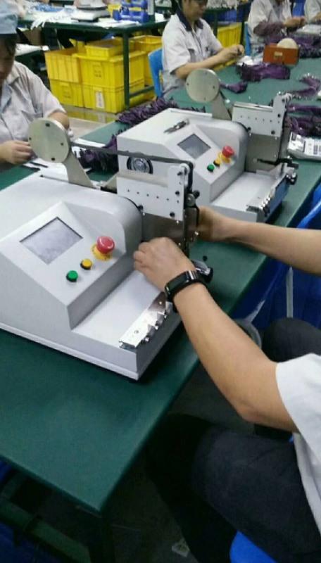 桌面式点缠机胶布缠绕机线束点包机
