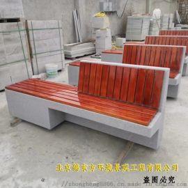 1.5米长户外公园椅 防腐木材质