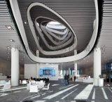 體院館集成吊頂U型槽白色鋁方通30*80鋁格柵方通