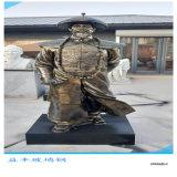 茂名冼太夫人雕像 玻璃钢仿铜人物雕塑