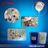 10: 1透明水晶鑽液體模具矽膠
