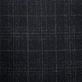 麥爾登呢格子粗紡面料生產
