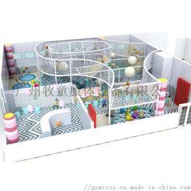 厂家直供定制广场 公园儿童冒险淘气堡游乐园设备