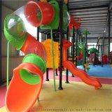 儿童木质滑梯幼儿园滑梯商场小区游乐设备