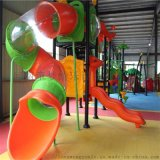 兒童木質滑梯幼兒園滑梯商場小區遊樂設備