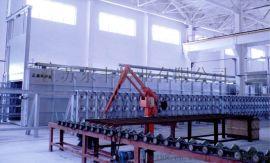 东丰炉业的卧式缠绕自旋转固化炉技术独特深受市场好评