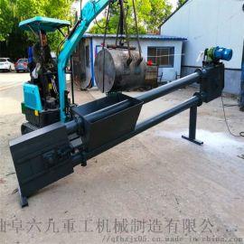 矿用刮板机 勾机型号 六九重工 拔树栽树只需1分