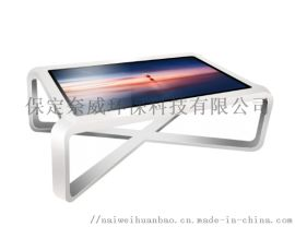 黑龙江触摸茶几广告机 智能互动桌查询机报价