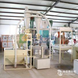 电动石磨 面粉加工机 小麦玉米磨面制粉机 有机环保