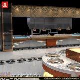 石英石自助餐台 冷热两用酒楼餐厅酒店专业设计厂家定做自助餐设备