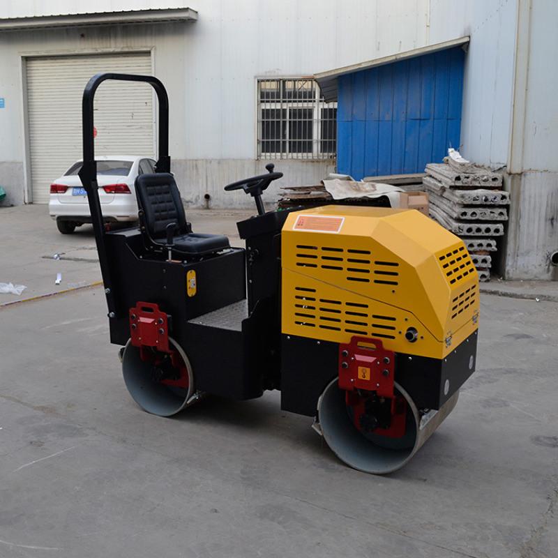 振動壓路機 單輪壓路機小型 3.5t雙鋼輪壓路機