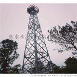 氣象檢測塔、攝像塔生產廠家、觀測瞭望塔