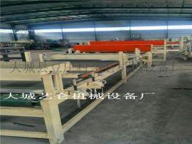 机制双面水泥砂浆岩棉复合板设备产品简介