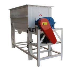 小型单轴混料机 卧式饲料混合机 畜牧养殖设备
