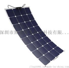 国瑞阳光100w sunpower 半柔性太阳能板