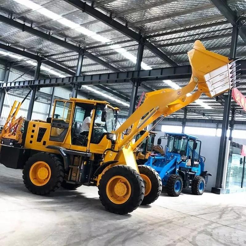 四驱柴油装载机 建筑工地工程小铲车 农用四轮铲车