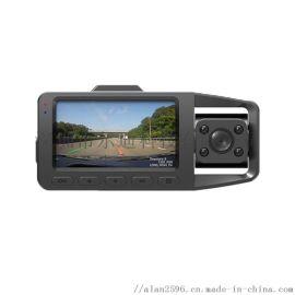3寸高清1080P广角三录行车记录仪